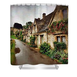 Shower Curtain featuring the photograph A Stroll Down Memory Lane by Mario Carini