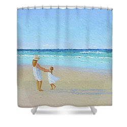 A Summer Dance Shower Curtain