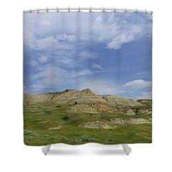 A Summer Day In Dakota Shower Curtain