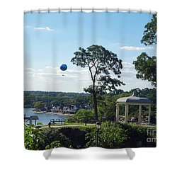 Shower Curtain featuring the photograph A Summer Day by Lyric Lucas