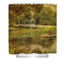 A Summer's Day In Princeton Shower Curtain