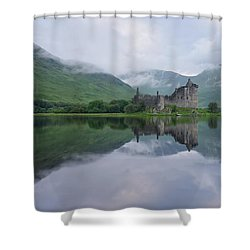 A Summers Morning At Kilchurn Shower Curtain