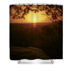 A Sun That Never Sets Shower Curtain