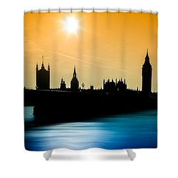 A Sunny Shape Shower Curtain