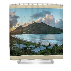 A Sunset On Bay Shower Curtain