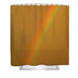 A Sunset Rainbow Shower Curtain