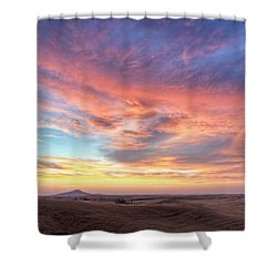 A Sunset Show Shower Curtain