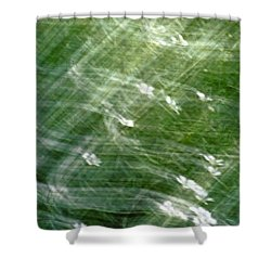 A Swarm Of Flowers Shower Curtain