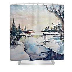 A Taste Of Winter Shower Curtain