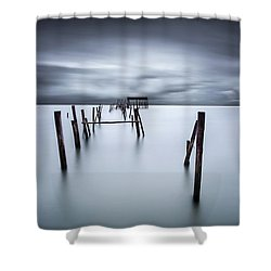 A Test Of Time Shower Curtain by Jorge Maia