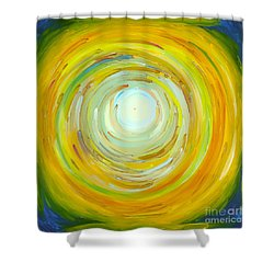 A Thought Before The Sunrise Shower Curtain