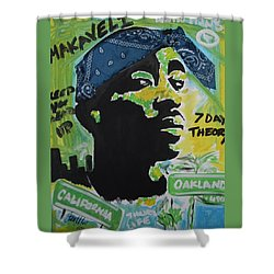 A Thugs Mind Shower Curtain