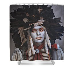 A Time Of Honor Shower Curtain by K Henderson