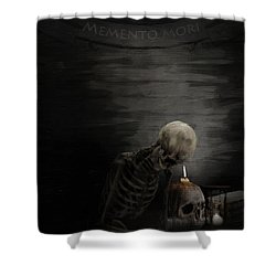A Time To Remember Shower Curtain by Lourry Legarde