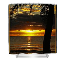 A Touch Of Paradise Shower Curtain by Holly Kempe