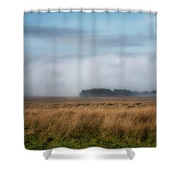 Shower Curtain featuring the photograph A Touch Of Snow by Jeremy Lavender Photography