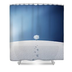 A Tree In The Field Shower Curtain