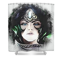 A Tribute To Sivir Shower Curtain