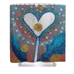 A Type Of Dandelion Shower Curtain