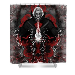 A Vampire Quest Fantasy Art Shower Curtain