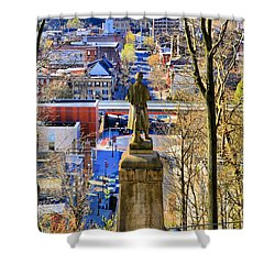 A View From College Hill Shower Curtain