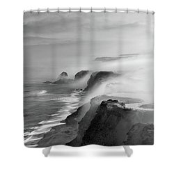 A View Of Gods Shower Curtain by Jorge Maia