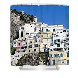 A View Of The Adratic Sea Shower Curtain