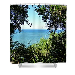 A View Of The Atlantic Ocean Shower Curtain