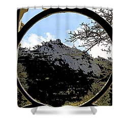 A View Of The Moorish Castle Shower Curtain
