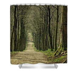 A Walk On Mariendaal Estate Shower Curtain