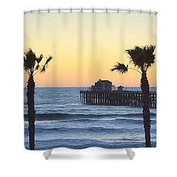 Shower Curtain featuring the photograph A Warmer Place To Be by AJ Schibig