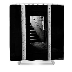 A Way Out Shower Curtain