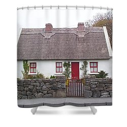 A Wee Small Cottage Shower Curtain