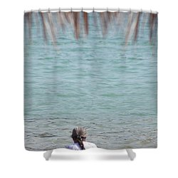 A Window With A View Shower Curtain