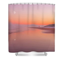A Winters Morning Shower Curtain by Roy McPeak