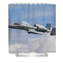 A10 Wart Hawg  Shower Curtain