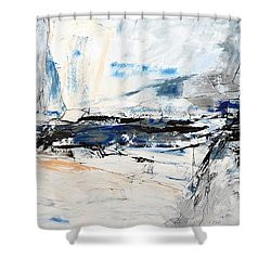 Ab37 Shower Curtain by Emerico Imre Toth