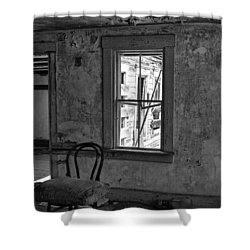 Abandon House Living Room Shower Curtain