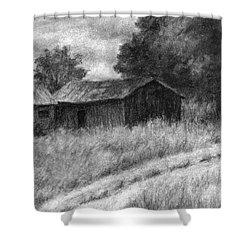 Abandoned Barns Shower Curtain