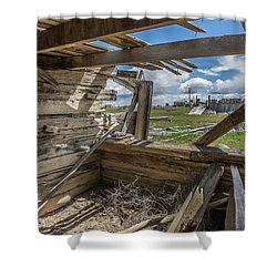 Abandoned Building In Cisco, Utah Shower Curtain