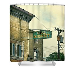 Shower Curtain featuring the photograph Abandoned Building by Jill Battaglia