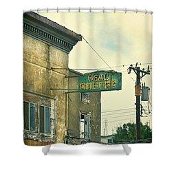 Abandoned Building Shower Curtain by Jill Battaglia
