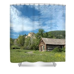 Abandoned Cabin Shower Curtain