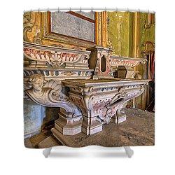 Abandoned Chapel Of An Important Liguria Family IIi - Cappella Abbandonata Di Famiglia Ligure 3 Shower Curtain