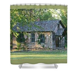 Abandoned Cottage Shower Curtain