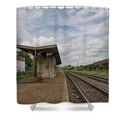 Abandoned Depot Shower Curtain
