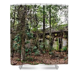 Abandoned House In Alabama Shower Curtain by Lynn Jordan