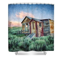 Abandoned In America Shower Curtain