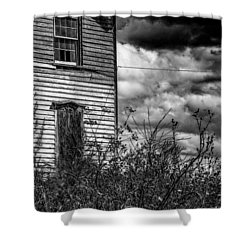Shower Curtain featuring the photograph Abandoned by Kendall McKernon