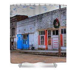 Abandoned Main Street Shower Curtain